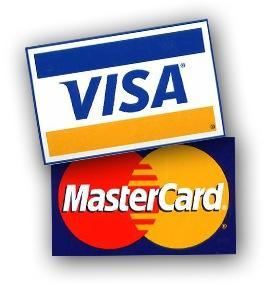 оплата картами VISA MASTERCARD